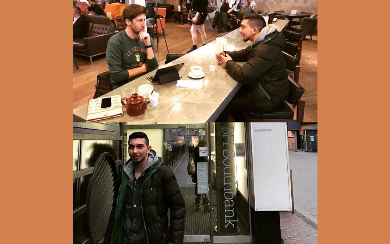 Work Experience: Mehmet Visits The BFI