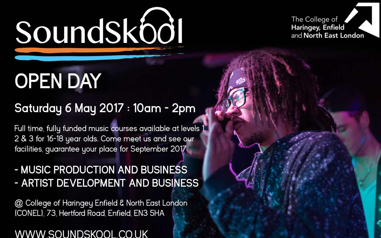 SoundSkool Open Day – 6th May 2017