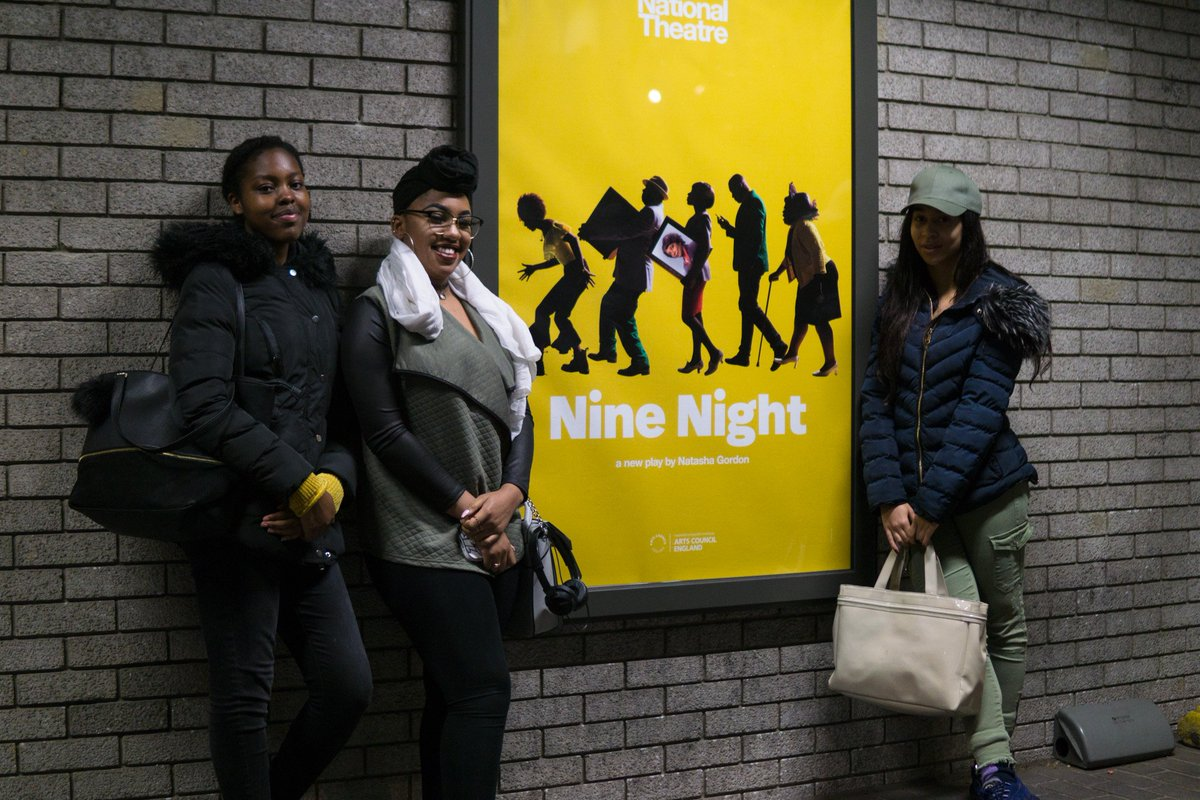 Students Taken To See Nine Night At The National