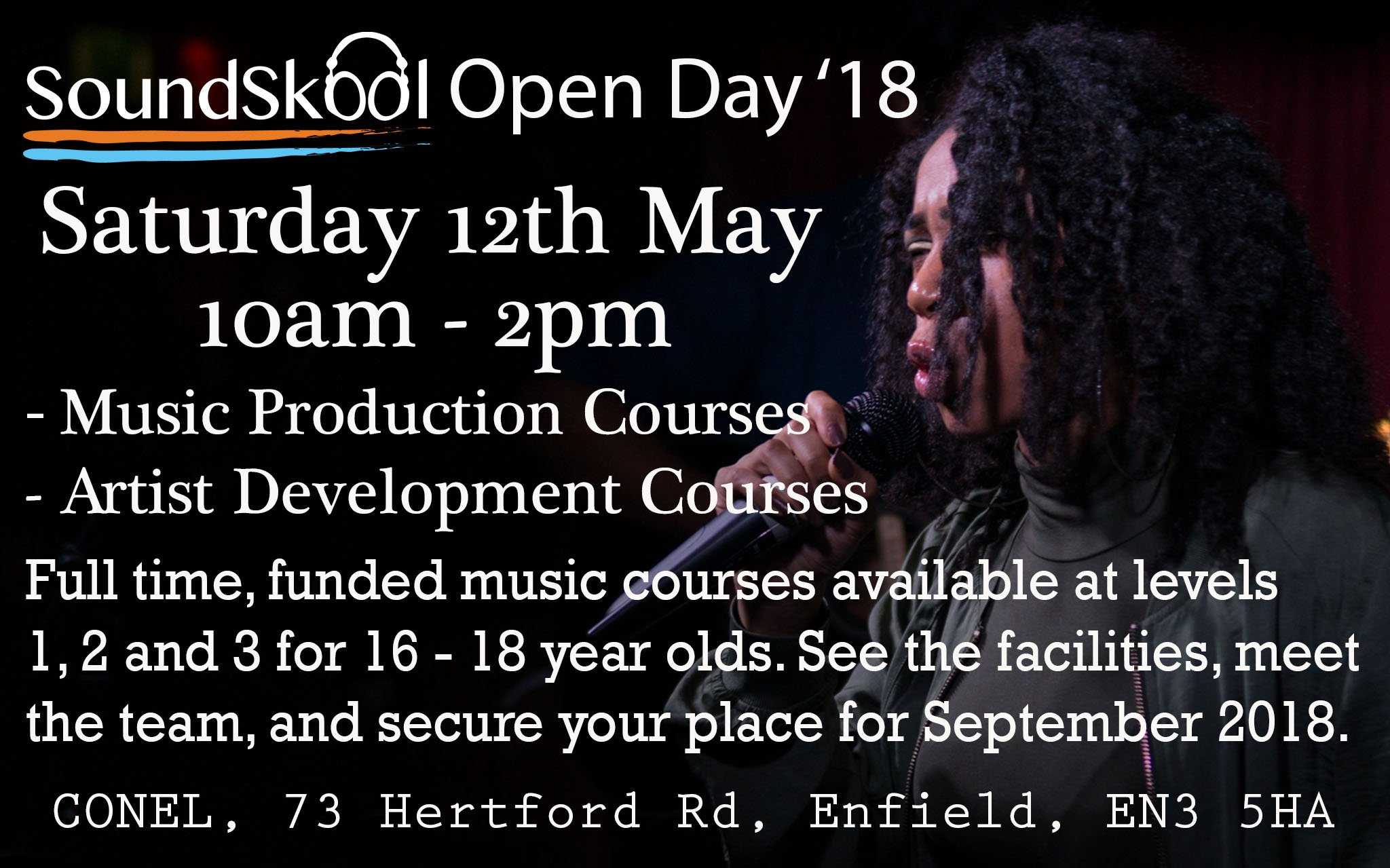 SoundSkool Open Day – 12th May '18